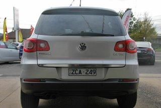 2009 Volkswagen Tiguan 5NC MY10 103 TDI Silver 6 Speed Tiptronic Wagon