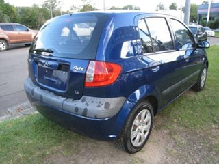 2008 Hyundai Getz TB Upgrade SX Blue 5 Speed Manual Hatchback