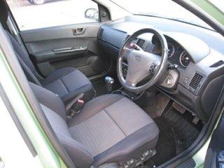2010 Hyundai Getz TB MY09 SX Green 4 Speed Automatic Hatchback