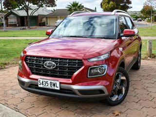 2021 Hyundai Venue QX.V3 MY21 Active Fiery Red 6 Speed Automatic Wagon.