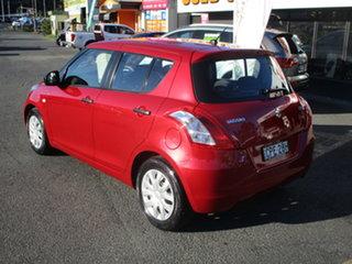 2013 Suzuki Swift FZ GL Red 5 Speed Manual Hatchback.