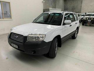 2006 Subaru Forester 79V MY07 X AWD White 4 Speed Automatic Wagon.