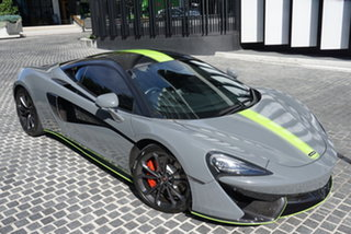 2016 McLaren 540C P13 Daytona Grey 7 Speed Sports Automatic Dual Clutch Coupe.