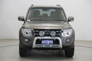 2014 Mitsubishi Pajero NW MY14 VR-X Brown 5 Speed Sports Automatic Wagon.