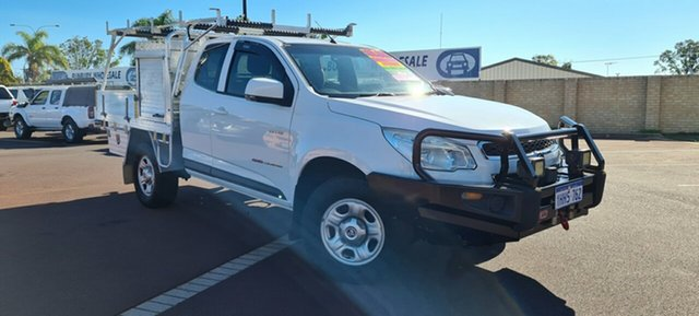 Used Holden Colorado RG MY13 LX Space Cab East Bunbury, 2013 Holden Colorado RG MY13 LX Space Cab White 6 Speed Sports Automatic Cab Chassis
