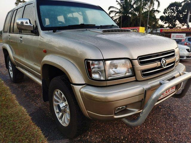 Used Holden Jackaroo U8 MY02 Nullabor Pinelands, 2002 Holden Jackaroo U8 MY02 Nullabor Gold 4 Speed Automatic Wagon
