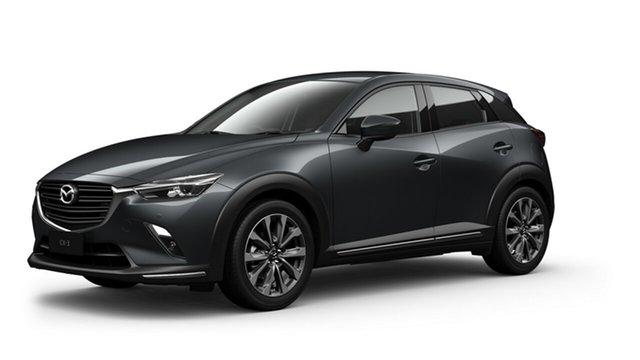 New Mazda CX-3 DK2W7A sTouring SKYACTIV-Drive FWD Toowoomba, 2021 Mazda CX-3 DK2W7A sTouring SKYACTIV-Drive FWD Machine Grey 6 Speed Sports Automatic Wagon
