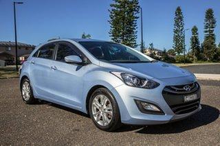 2012 Hyundai i30 GD Elite Blue 6 Speed Sports Automatic Hatchback.