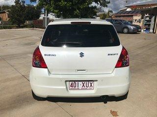 2007 Suzuki Swift RS415 White 4 Speed Automatic Hatchback