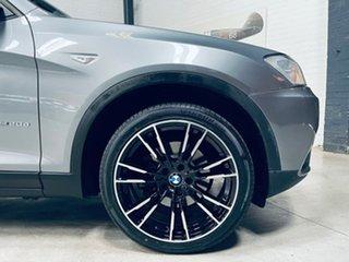 2013 BMW X3 F25 MY0413 xDrive20d Steptronic Grey 8 Speed Automatic Wagon.