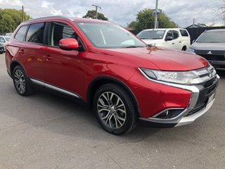 2015 Mitsubishi Outlander ZK MY16 LS 2WD Red 6 Speed Constant Variable Wagon.