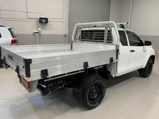 2017 Toyota Hilux GUN125R Workmate Extra Cab White 6 Speed Manual Cab Chassis