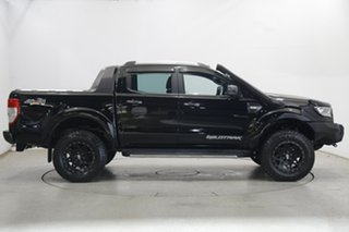 2017 Ford Ranger PX MkII 2018.00MY Wildtrak Double Cab Black 6 Speed Sports Automatic Utility