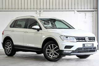 2016 Volkswagen Tiguan 5N MY17 110TSI DSG 2WD Comfortline White 6 Speed Sports Automatic Dual Clutch.