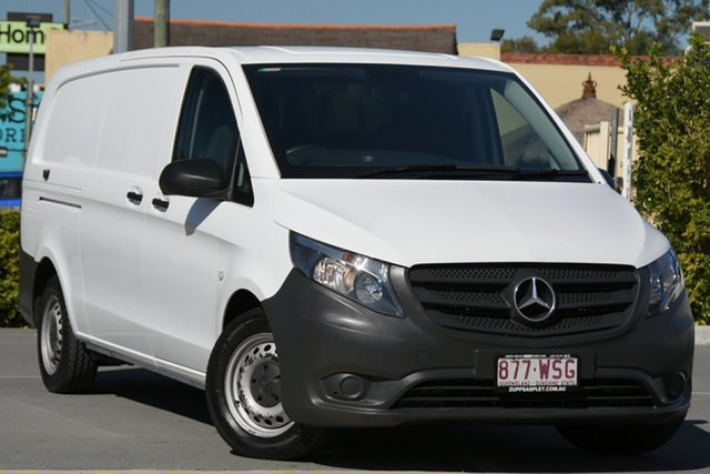 Used Mercedes-Benz Vito 447 114BlueTEC SWB 7G-Tronic + Aspley, 2016 Mercedes-Benz Vito 447 114BlueTEC SWB 7G-Tronic + White 7 Speed Sports Automatic Van