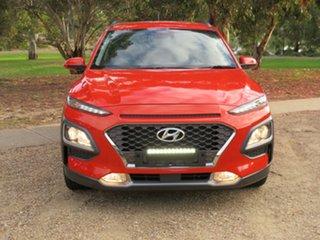 2017 Hyundai Kona OS MY18 Elite 2WD Tangerine Orange 6 Speed Sports Automatic Wagon.