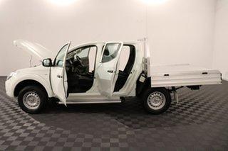 2017 Mitsubishi Triton MQ MY17 GLX Double Cab 4x2 White 5 speed Automatic Utility