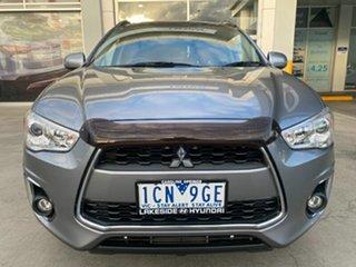 2013 Mitsubishi ASX XB MY14 Aspire Grey 6 Speed Sports Automatic Wagon