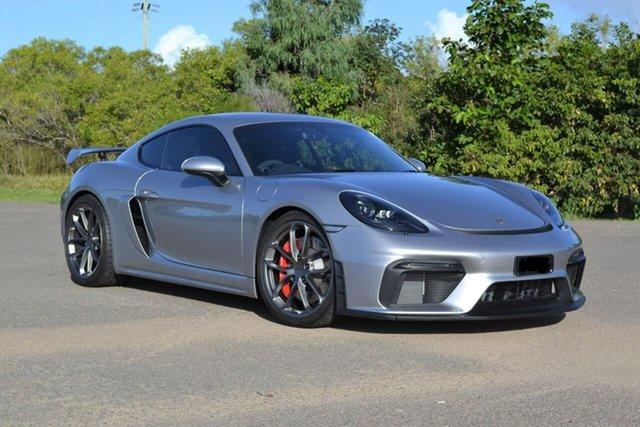Used Porsche 718 982 MY20 Cayman GT4 Mundingburra, 2020 Porsche 718 982 MY20 Cayman GT4 Silver 6 Speed Manual Coupe