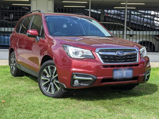 Used Subaru Forester S4 MY16 2.0D-S CVT AWD Victoria Park, 2016 Subaru Forester S4 MY16 2.0D-S CVT AWD Red 7 Speed Constant Variable Wagon