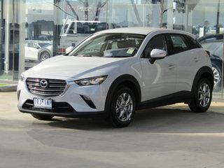 2020 Mazda CX-3 DK2W7A Maxx SKYACTIV-Drive FWD Sport Ceramic White 6 Speed Sports Automatic Wagon.