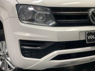 2017 Volkswagen Amarok 2H MY18 TDI400 4MOT Core Candy White 6 Speed Manual Utility.