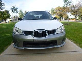2007 Subaru Impreza S RV Luxury White Automatic Hatchback.