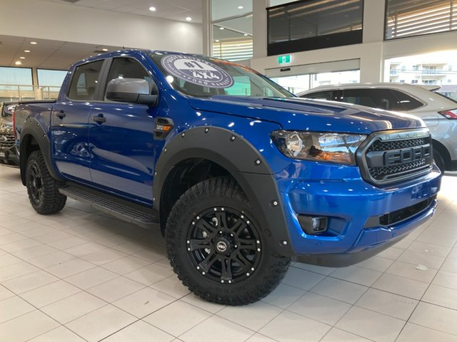 New Ford Ranger XLS Cardiff, 2021 Ford Ranger PX MkIII XLS Blue Lightning 6 Speed Automatic