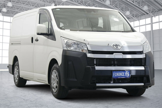 Used Toyota HiAce GRH320R High Roof Super LWB Victoria Park, 2019 Toyota HiAce GRH320R High Roof Super LWB White 6 Speed Sports Automatic Van