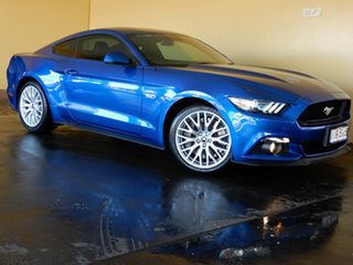 2016 Ford Mustang FM MY17 Fastback GT 5.0 V8 Blue 6 Speed Automatic Coupe