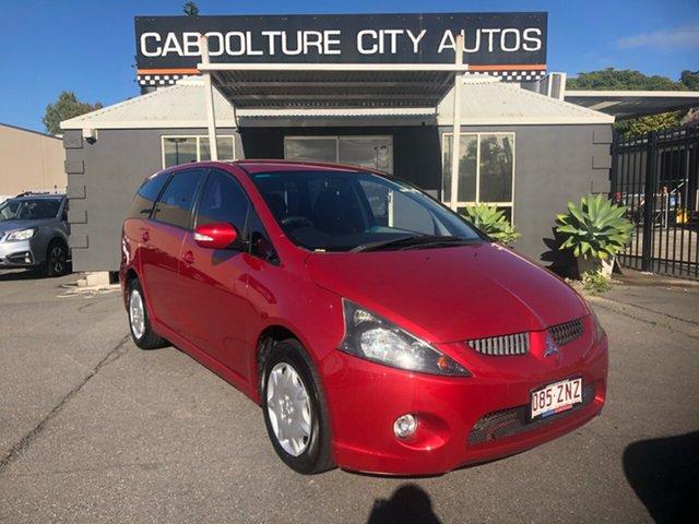 Used Mitsubishi Grandis BA MY06 Morayfield, 2005 Mitsubishi Grandis BA MY06 Red 4 Speed Auto Sports Mode Wagon