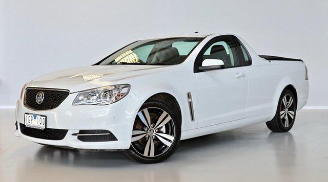 Used Holden Ute VF MY14 Ute Thomastown, 2014 Holden Ute VF MY14 Ute White 6 Speed Sports Automatic Utility