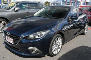 2015 Mazda 3 BM5438 SP25 SKYACTIV-Drive Dark Grey 6 Speed Sports Automatic Hatchback.