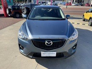 2013 Mazda CX-5 MY13 Upgrade Maxx Sport (4x4) Blue 6 Speed Automatic Wagon.