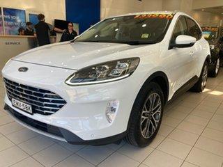 2020 Ford Escape ZH Escape Frozen White 8 Speed Automatic SUV.
