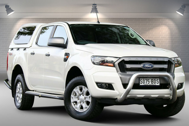 Used Ford Ranger PX XLS Double Cab Nailsworth, 2015 Ford Ranger PX XLS Double Cab White 6 Speed Sports Automatic Utility