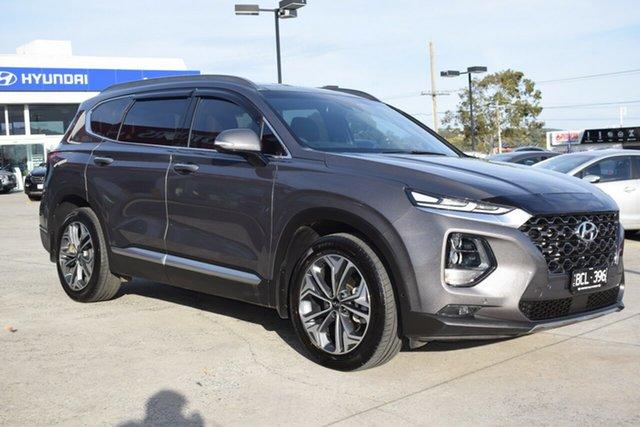 Used Hyundai Santa Fe TM MY19 Highlander Ferntree Gully, 2019 Hyundai Santa Fe TM MY19 Highlander Brown 8 Speed Sports Automatic Wagon