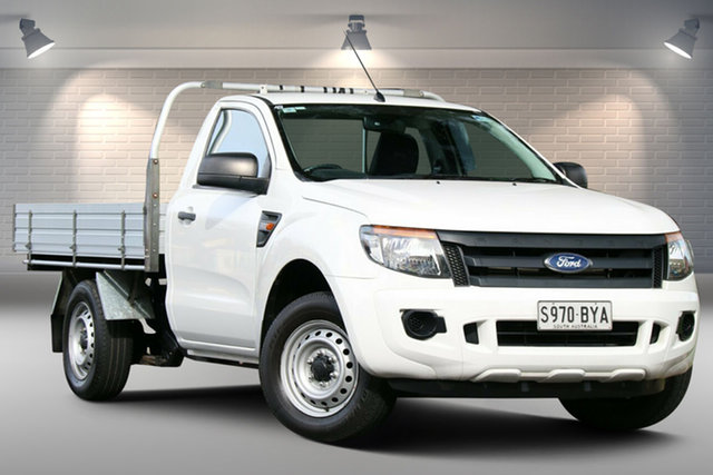 Used Ford Ranger PX XL Nailsworth, 2013 Ford Ranger PX XL White 6 Speed Manual Utility