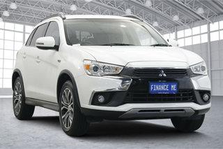 2016 Mitsubishi ASX XB MY15.5 LS White 6 Speed Sports Automatic Wagon.