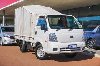 2011 Kia K2900 PU3 MY10 White 5 Speed Manual Cab Chassis.
