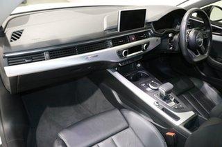 2018 Audi A5 F5 MY18 2.0 TFSI Quattro S Tronic Sprt White 7 Speed Auto Dual Clutch Coupe