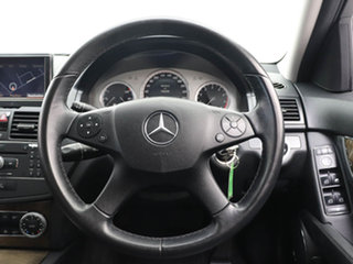 2007 Mercedes-Benz C200 W204 Kompressor Avantgarde Grey 5 Speed Auto Tipshift Sedan
