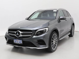 2015 Mercedes-Benz GLC250D 253 Selenite Grey 9 Speed Automatic Wagon.