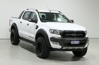 2017 Ford Ranger PX MkII MY17 Wildtrak 3.2 (4x4) White 6 Speed Automatic Dual Cab Pick-up