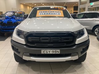 2020 Ford Ranger PX MkIII Raptor Arctic White 10 Speed Automatic.