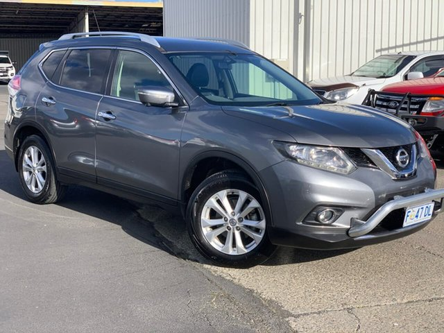 Used Nissan X-Trail T32 ST-L X-tronic 4WD Moonah, 2016 Nissan X-Trail T32 ST-L X-tronic 4WD Grey 7 Speed Constant Variable Wagon
