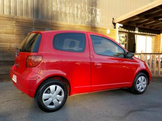 2003 Toyota Echo NCP10R MY03 Red 5 Speed Manual Hatchback