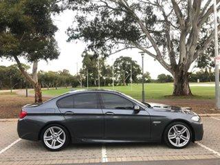 2016 BMW 5 Series F10 LCI 520d Steptronic M Sport Grey 8 Speed Sports Automatic Sedan.
