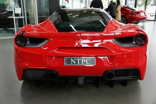 2016 Ferrari 488 GTB F142 DCT Red 7 Speed Sports Automatic Dual Clutch Coupe