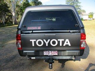 2013 Toyota Hilux KUN26R MY12 SR (4x4) Charcoal Grey 4 Speed Automatic Dual Cab Pick-up